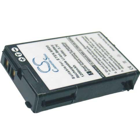 E-TEN M500/600/G500/P700 náhradní baterie - neoriginální 1200 mAh