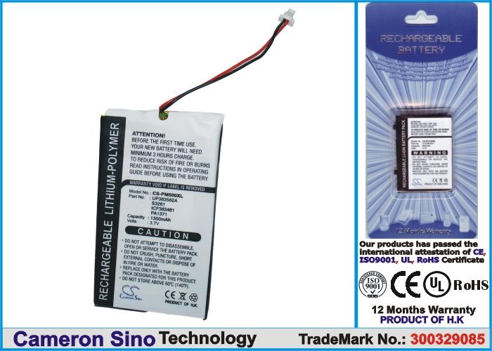 m500/m505/m515 náhradní baterie - neoriginální 1350mAh