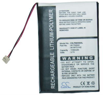 m550/T/T2/T3/Z31/Z71/Z72/E2 náhradní baterie - neoriginální 1100mAh