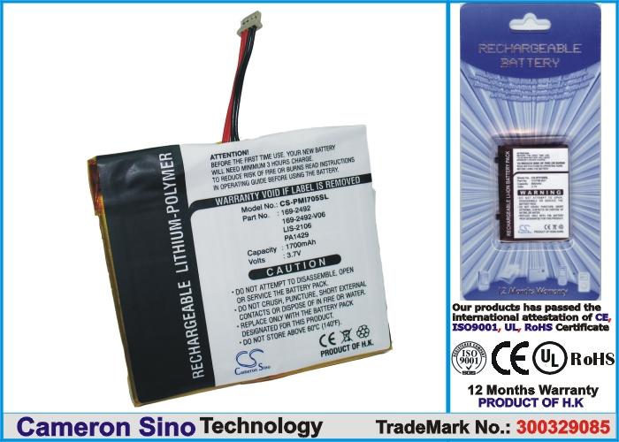 TC/TW/i705 náhradní baterie - neoriginální 1700mAh
