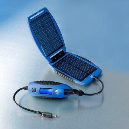 Univerzální solární nabíječka powermonkey eXplorer - modrá 2200 mAh