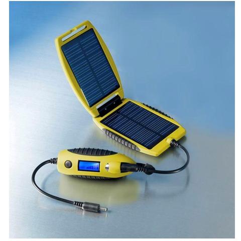 Univerzální solární nabíječka powermonkey eXplorer - žlutá 2200 mAh