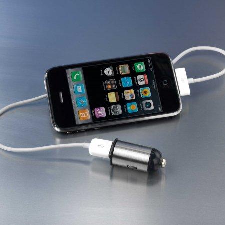 Autonabíječka Motormonkey CL/USB + adaptéry na miniUSB, microUSB, Nokia, HTC, Samsung, SE