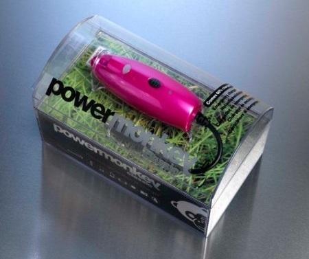 Univerzální akumulátorová nabíječka powermonkey classic v2 - růžová 2200 mAh