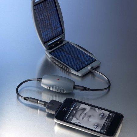 Univerzální solární nabíječka solarmonkey&solarnut - šedá 150 mAh