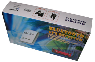 Bluetooth GPS receiver BTGP38-Plus