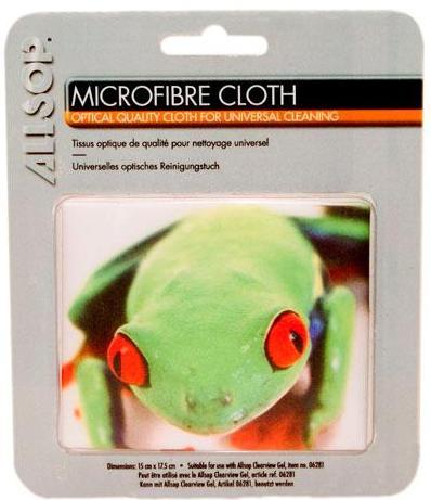 Mikrofibrilační tkanina s motivem žáby