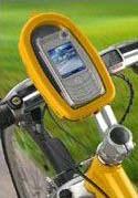 Vodotěsné pouzdro Wavecase Mobile Display žluté