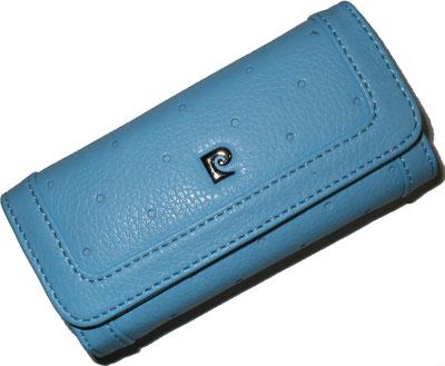 Kožené pouzdro dámské Pierre Cardin modré