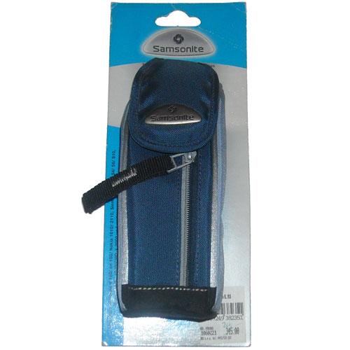 SAMSONITE textilní pouzdro šedo-modré