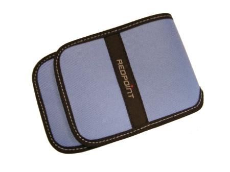 RedPoint pouzdro pro PDA vertikální světle modré