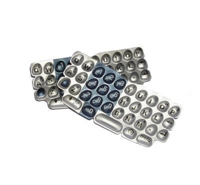 Náhradní klávesnice T600 stříbrno-modrá