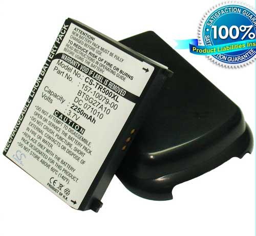 Baterie Palm Centro - neoriginální 2250 mAh s černým krytem