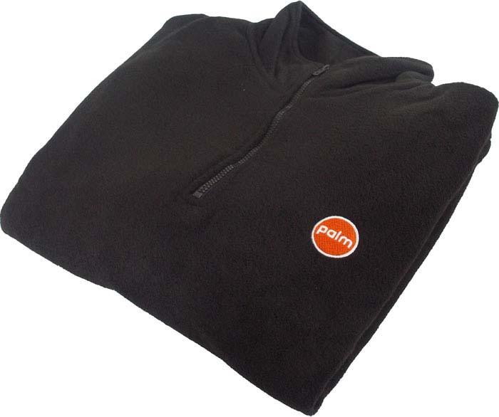 Mikina fleece černá L/XL