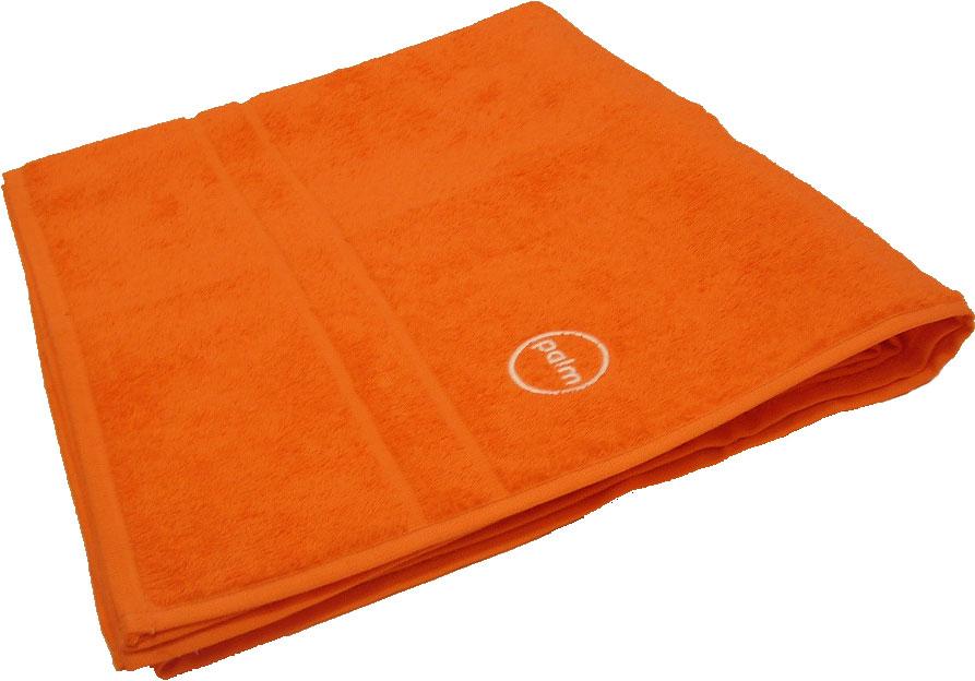 Osuška froté oranžová