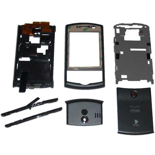 Kompletní vnější kryty a tlačítka pro HTC Touch Cruise P3650