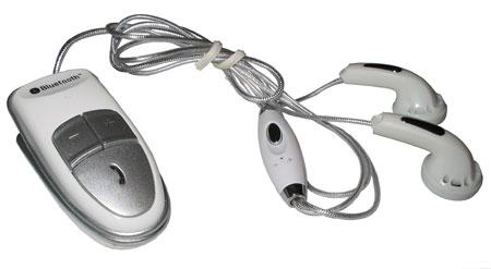 Bluetooth Stereo sluchátka + headset BS-209 bílá