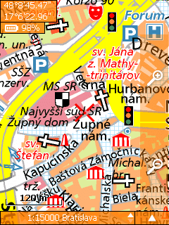 SmartMaps Locator: Msta R + SR 1:10.000