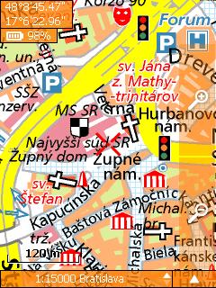 SmartMaps Locator: Města ČR + SR 1:10.000