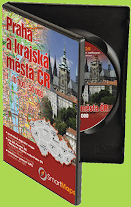 SmartMaps Locator: Praha 1:10.000
