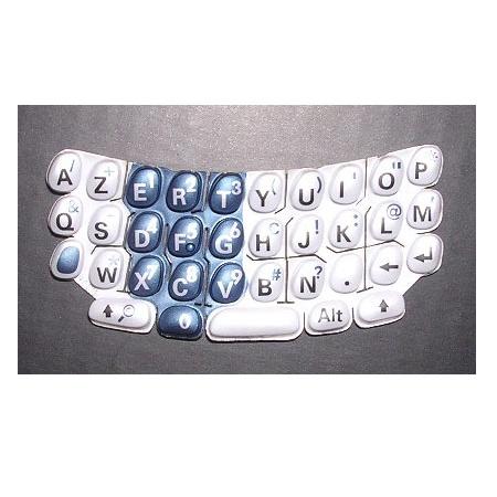 Náhradní klávesnice T650 bílo-modrá AZERTY