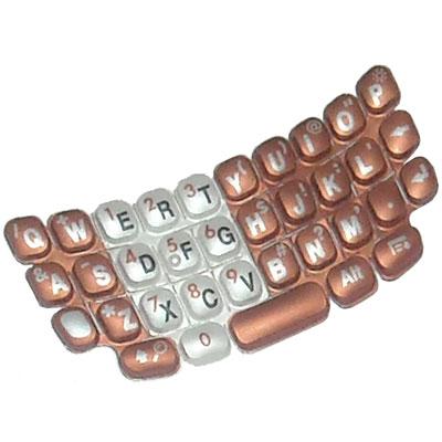 Náhradní klávesnice T680 oranžová QWERTY