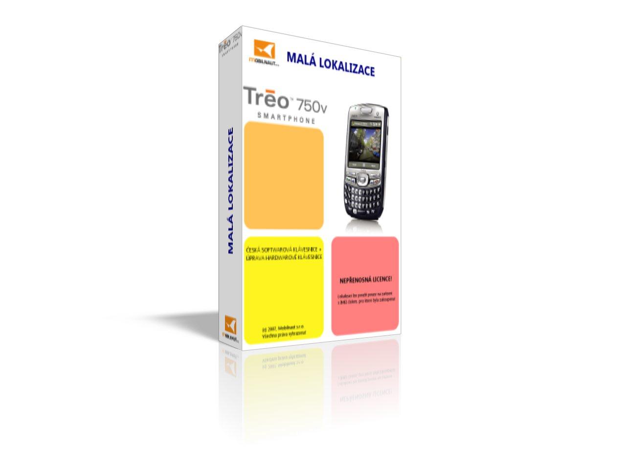 Mobilnaut - malá lokalizace pro Treo 750