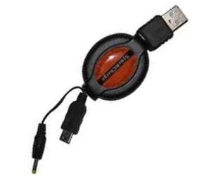 Navíjecí synchronizační a nabíjecí kabel pro Palm TE/Zire/Z21/31/72/miniUSB