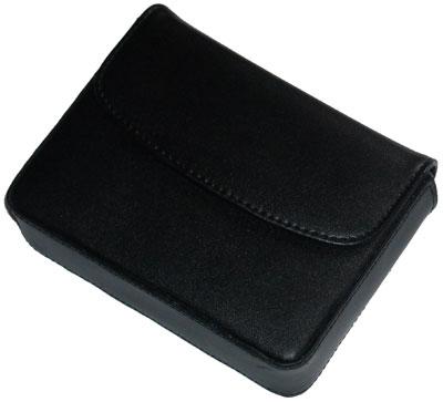 Kožené pouzdro pro TomTom One XL opaskové černé