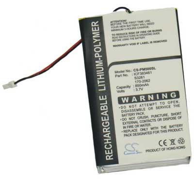 m500/m505/m515 náhradní baterie - neoriginální 850mAh