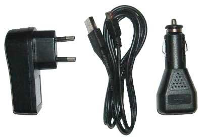 Synchronizační a nabíjecí USB kabel 3 v 1 pro miniUSB