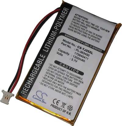 Clié PEG-TJ 25/35 náhradní baterie - neoriginální 1350mAh