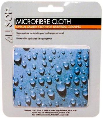Mikrofibrilační tkanina s motivem modrých kapek