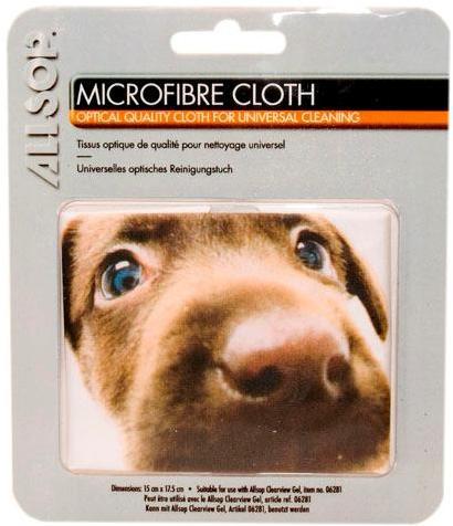 Mikrofibrilační tkanina s motivem štěněte